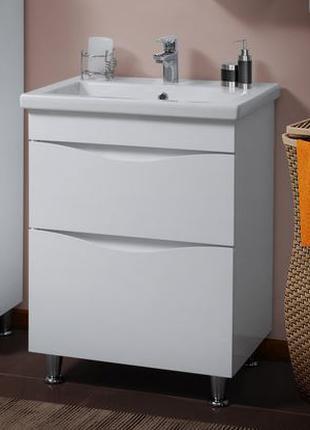 Тумба с умывальником ванную 70 см