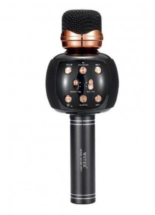 Беспроводной микрофон караоке блютуз WSTER WS-2911 Bluetooth