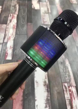 Беспроводной микрофон караоке блютуз YS 66 Bluetooth динамик USB