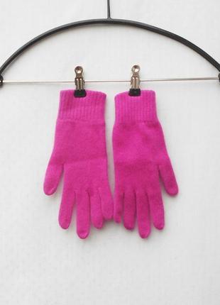 Вязаные осенние зимние шерстяные перчатки