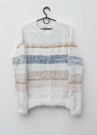 Свитер осенний зимний свитшот травка с длинным рукавом