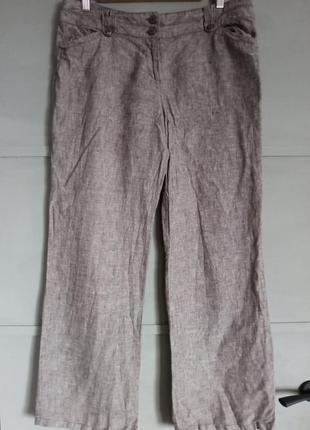 Брюки.  льняные брюки.  штаны . лен