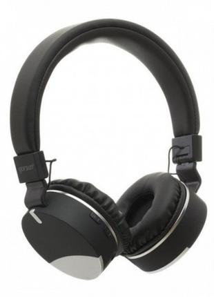 Беспроводные Bluetooth наушники Gorsun GS-E86 Micro SD Чёрные