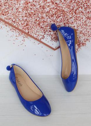 Шикарные туфли, балетки 35, 36 размера на низком ходу