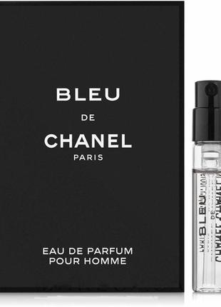 Парфюмированная вода (пробник) chanel bleu de chanel eau de pa...