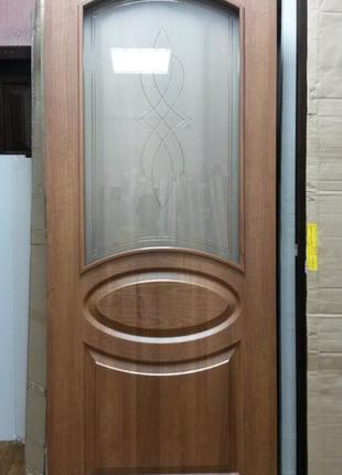Дверь межкомная Фортис R (Овал) 80 см Новый Стиль