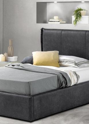 Ліжко односпальне Танго з м'яким узголів'ям 900*2000 Кровать одно