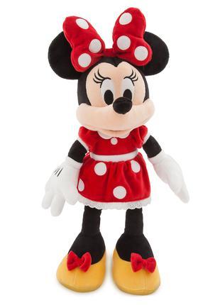 Плюшевая Minnie Mouse красная Дисней оригинал disney 47см