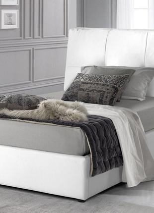 Кровать односпальная с мягким изголовьем Rumba 900*2000 Ліжко одн