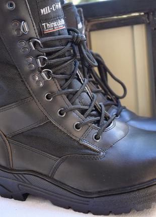 Зимние ботинки берцы сапоги с утеплителем thinsulate р.12 р.45...