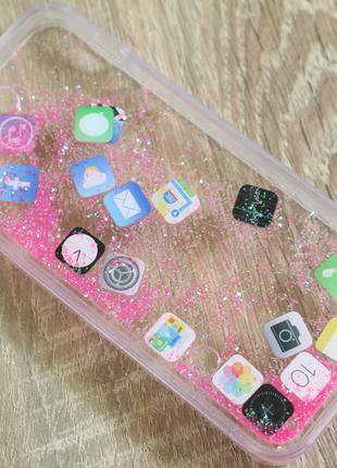 Чехол для телефонов: Apple iPhone 5/ 5C/ 5S / SE (iOS ярлыки)