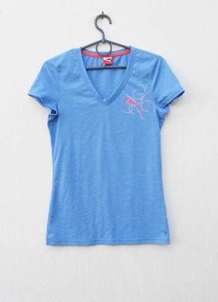 Спортивная футболка женская спортивная одежда puma