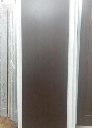 Дверь межкомнатная Колори А 60см венге Новый Стиль