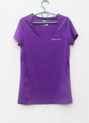 Спортивная футболка женская спортивная одежда gold active