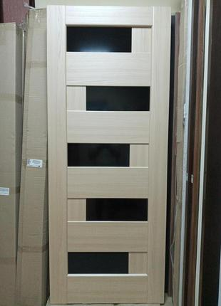 Дверь межкомнатная Пиана 80 см ясень Новый Стиль