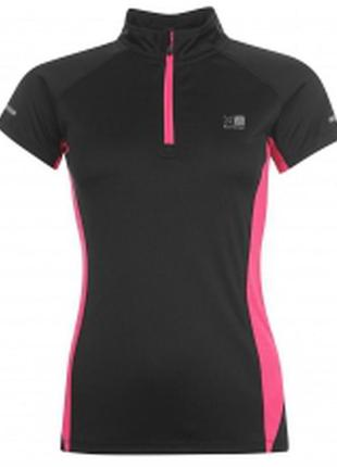 Спортивная дышащая футболка karrimor для бега женская спортивн...