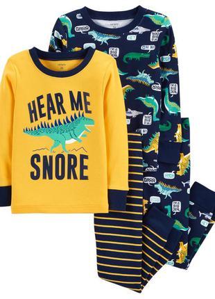 Хлопковая пижама carters
