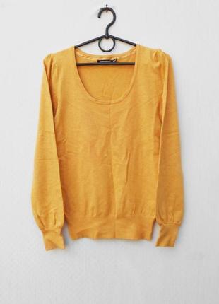 Осенний свитер с длинным рукавом из вискозы