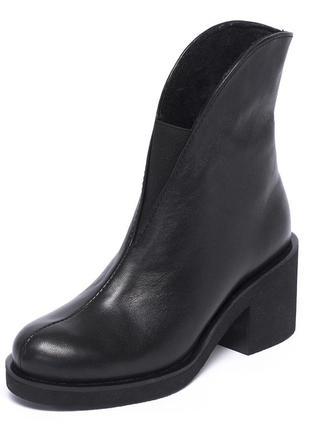 Ботильоны женские на среднем каблуке