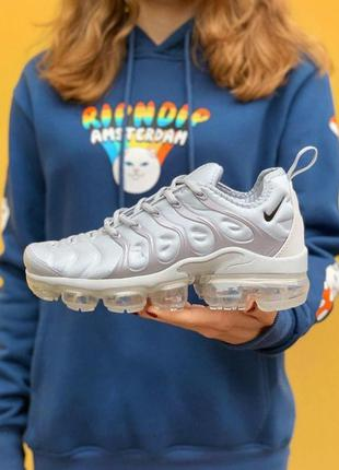 Кроссовки nike air vapormax tn wolf grey