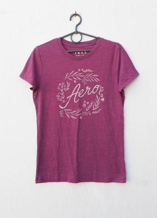 Трикотажная футболка с принтом с надписью