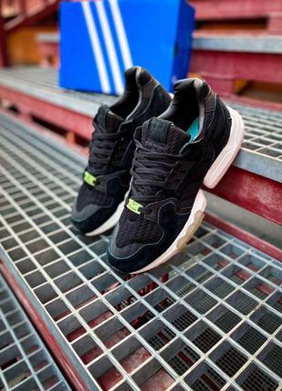 "Кроссовки adidas zx torsion core ""black/white"" артикул 7706"