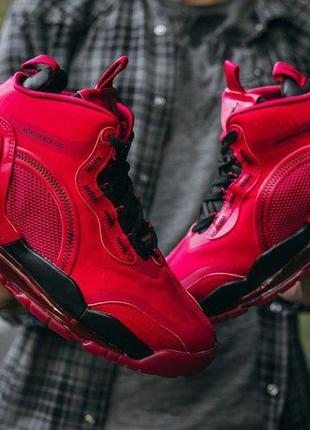 "Кроссовки nike jordan air space 720 ""all red"" код : 569"