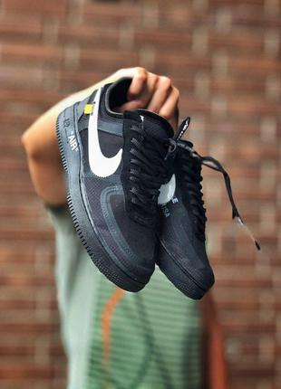 Кроссовки nike air force low x off-white код 3103