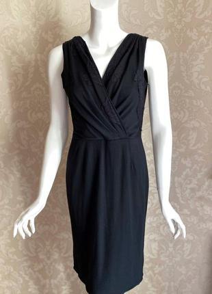 Dolce and gabbana оригинал италия черное классическое платье ш...