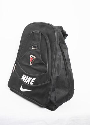 Черный спортивный рюкзак на одно плечо