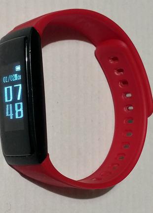 Фитнес-браслет Smart Bracelet Expert с пульсометром и шагомером