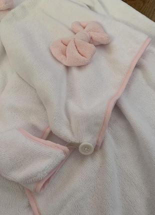 Комплект для бани (полотенце + тюрбан)