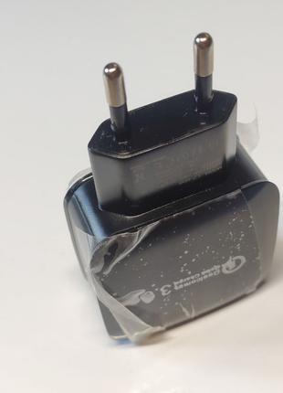 Быстрая зарядка QC3.0 USB зарядное устройство Блок питания 3A