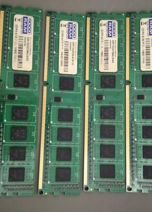 Оперативная память DDR3 GoodRam 8GB (2x4GB) 1333  / 1600