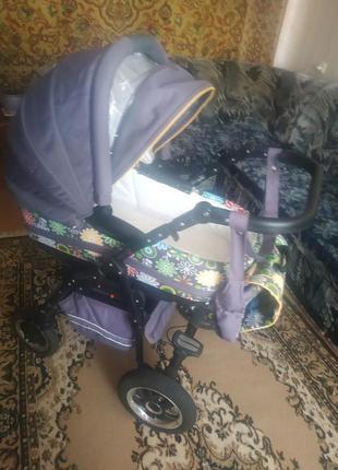 Детская коляска, ванночка, мобиль