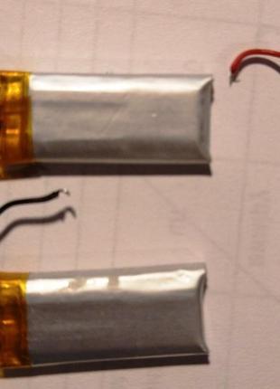 Аккумулятор 110mAh Li-ion 3.7V 40123OP