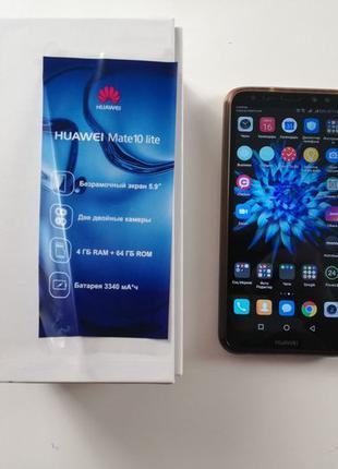 Телефон Huawei Mate 10 Lite 4/64GB Black