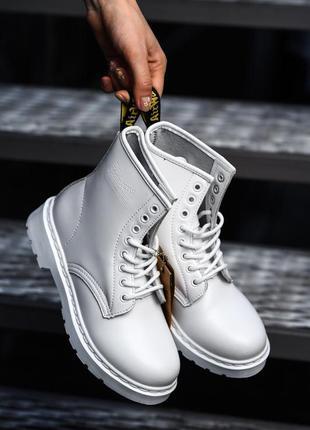 Dr. martens tripple white 🆕 осенние ботинки доктор мартинс 🆕 к...