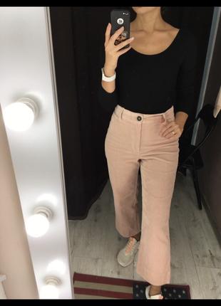 Крутые вельветовые брюки