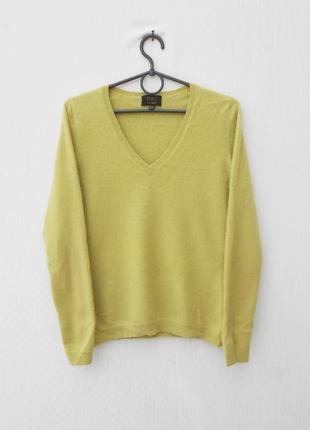 Кашемировый осенний весенний свитер джемпер с длинным рукавом 🌿