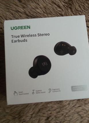 Ugreen TWS WS102 Bluetooth блютуз беспроводные наушники