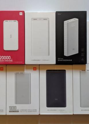Xiaomi Redmi Power Bank 10000 20000 mAh, Xiaomi 2s 3 new, 2C 2...