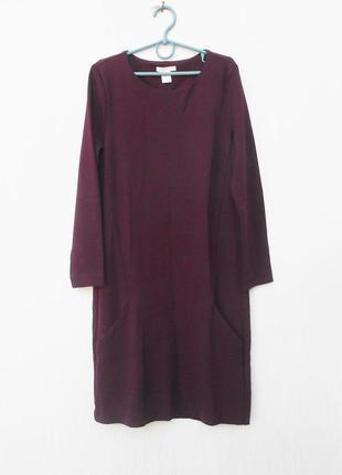 Весеннее демисезонное трикотажное платье