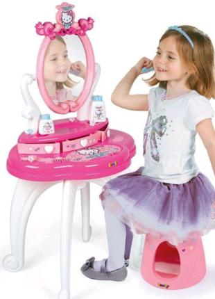 Детский туалетный столик с зеркалом Hello Kitty Smoby 320239