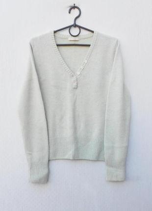 Шерстяной осенний зимний  свитер с длинным рукавом 🌿