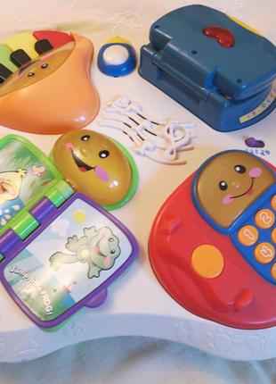Музыкальная интерактивна игровая панель (столик) Fisher-Price