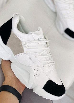 Женские белые кроссовки. Женские кроссовки белого цвета