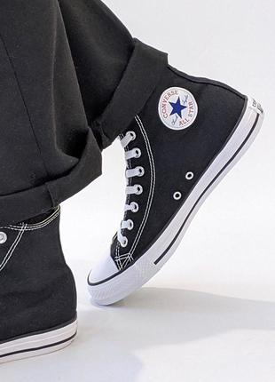 Кеди converse all star hi високі