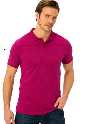 Стильная футболка поло / яркая футболка / рубашка поло / xl /