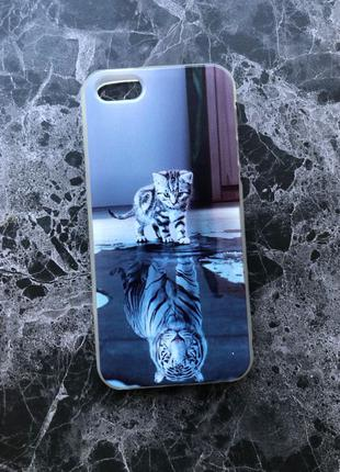 Чехол для Apple iPhone 5s силиконовый